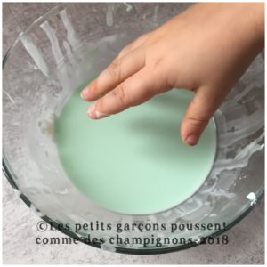 Oobleck solide