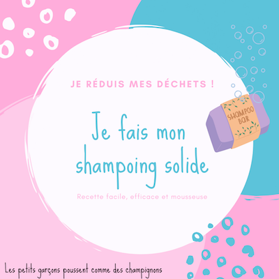 shampoing solide recette